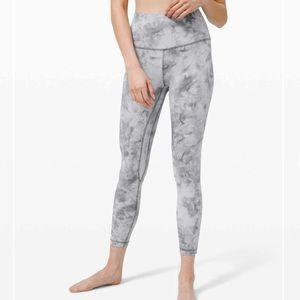"Lululemon Align Pant 25"" diamond dye leggings sz 2"